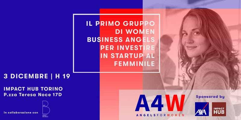 Angels4Women – Il gruppo di women business angels arriva a Torino