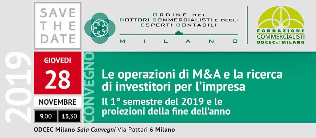 Convegno ODCEC Milano 28 novembre 2019