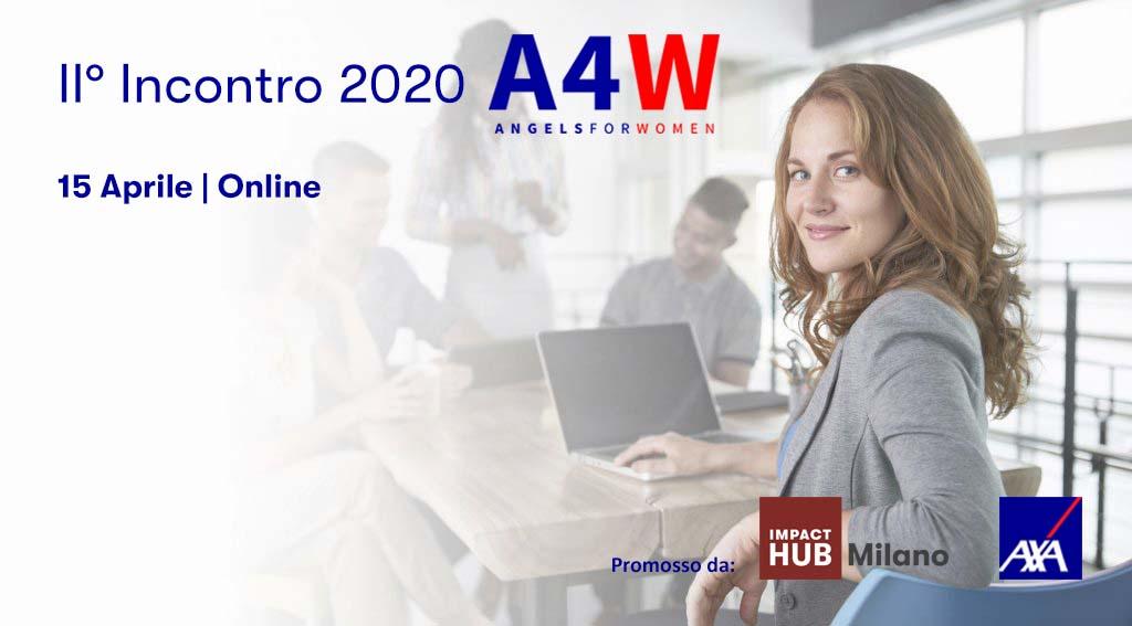 AXA Italia con Angels4Women: al via la seconda selezione 2020 delle migliori startup al femminile