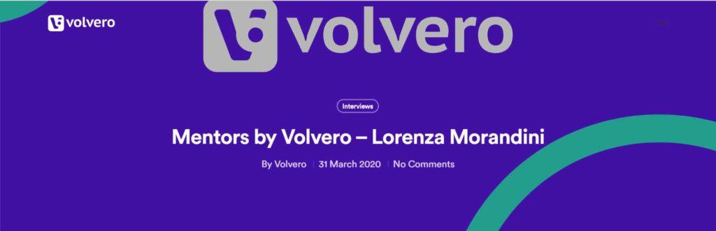 Intervista a Lorenza Morandini  – Volvero