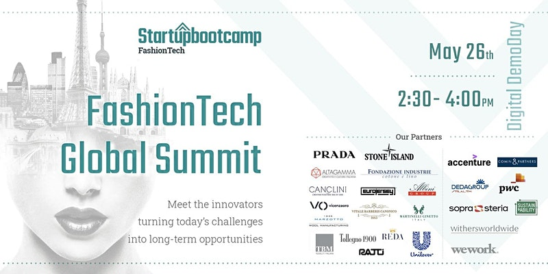 Startupbootcamp FashionTech Global Summit | 26 Maggio 2020