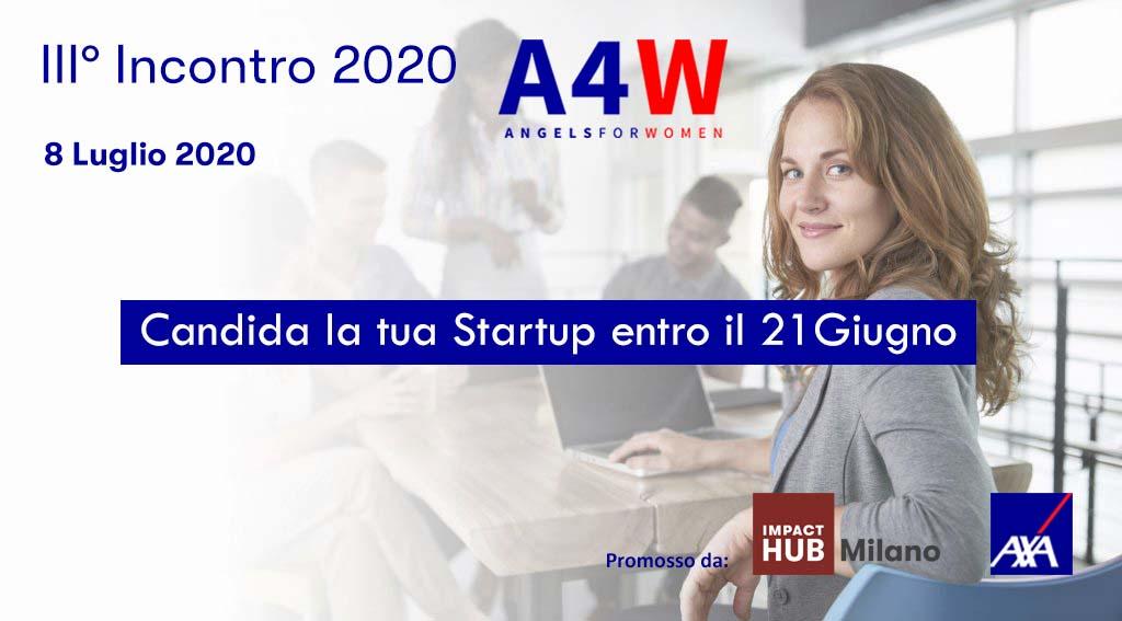 terzo-incontro-2020-angels4women-aperte-fino-al-21-giugno-le-candidature-per-le-migliori-startup-al-femminile