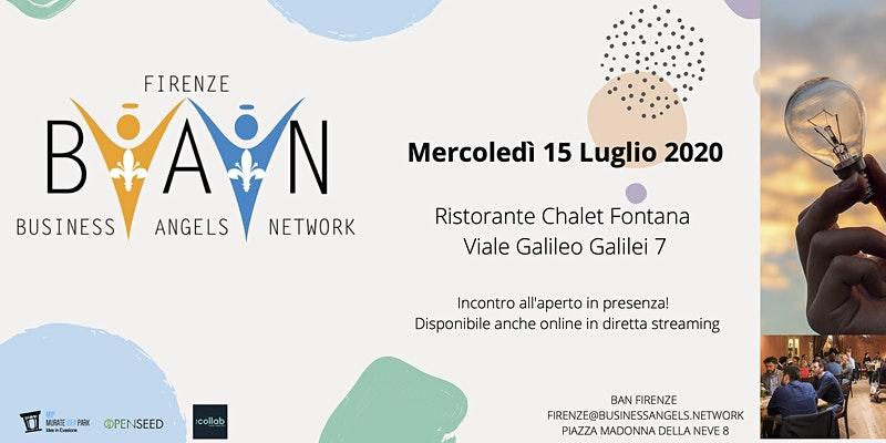 Terzo Incontro Startup 2020 di BAN Firenze