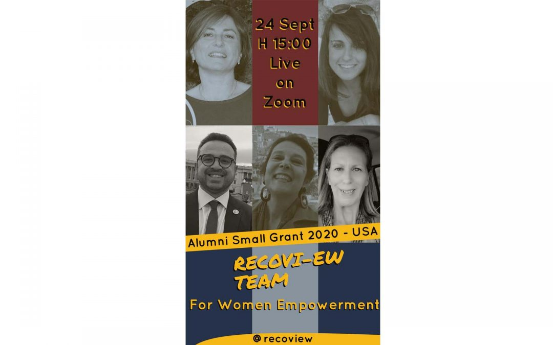 RECOVI-EW | USA  Alumni Small Grant Program 2020