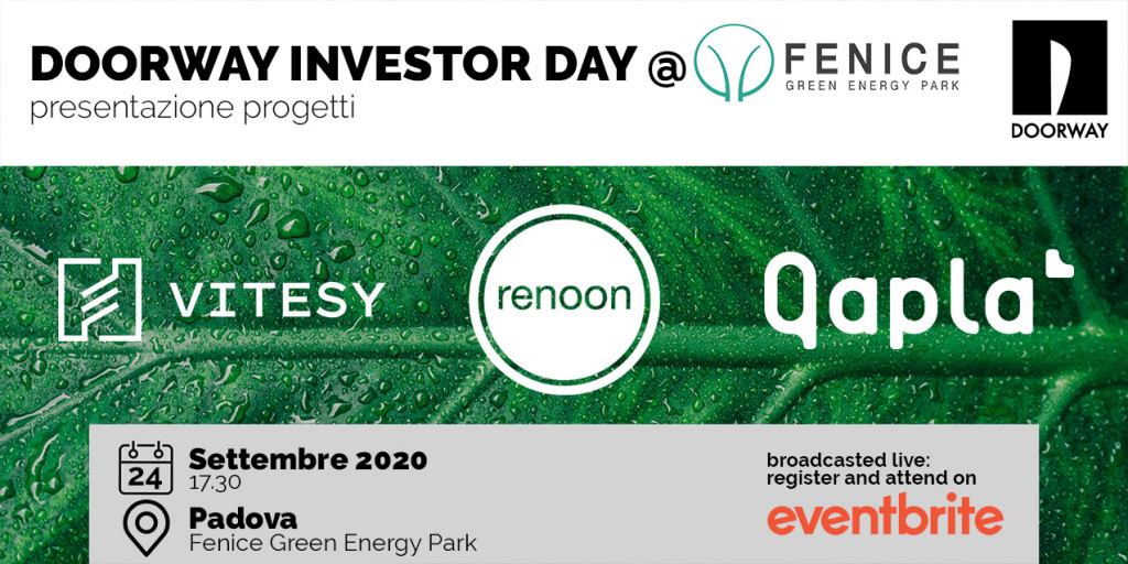 Doorway Investor Day | 24 Settembre 17,30