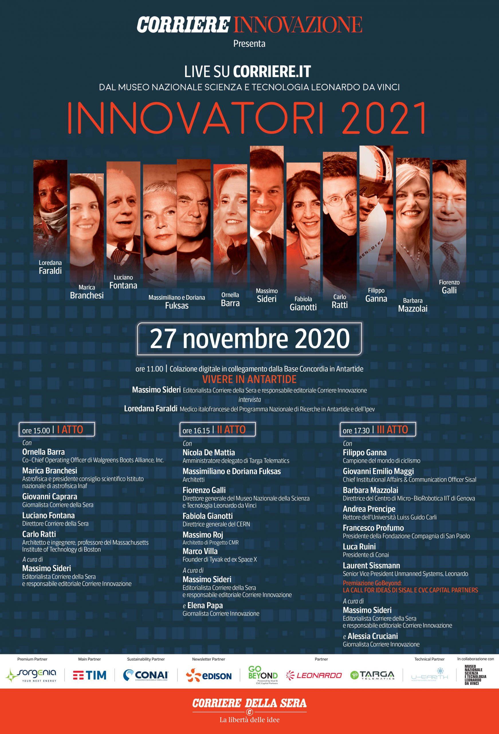 Premiazione Vincitori GoBeyond 2020