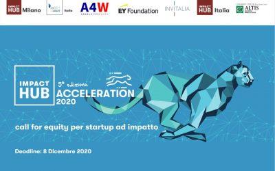 Impact Hub Milano lancia IHM Acceleration 2020