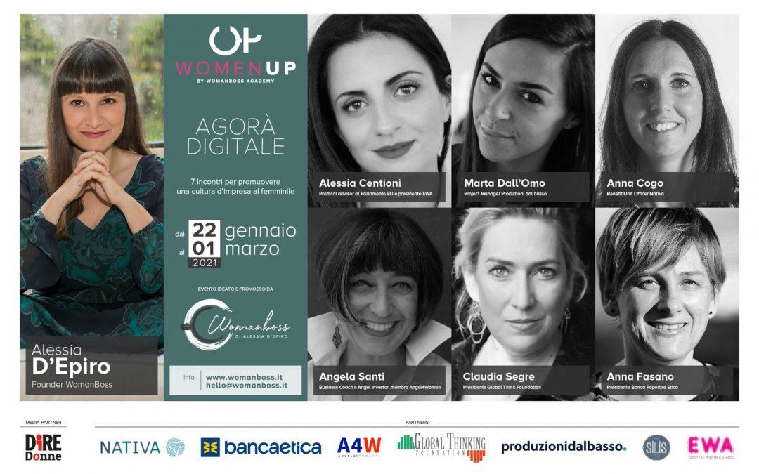Al via WomenUp: per una cultura d'impresa al femminile | 22 Gennaio – 1 Marzo 2021
