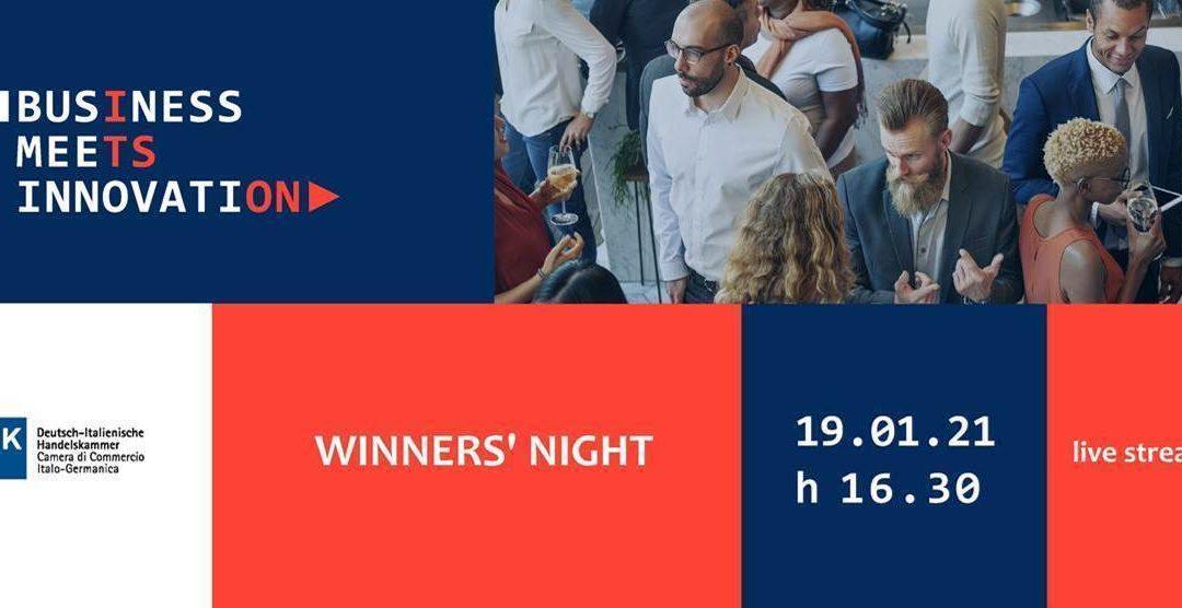 Winners' Night Business Meets Innovation 2020 | 19 Gennaio 2021