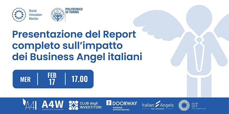 Presentazione Report completo sull'impatto dei Business Angel italiani