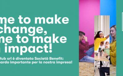 Impact Hub diventa società Benefit