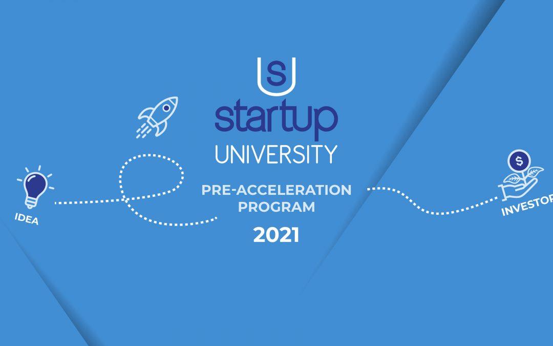 Al via Startup University 2021
