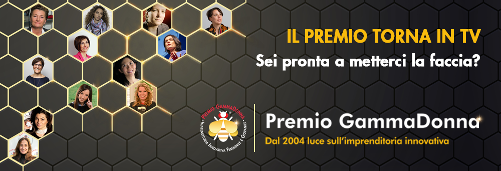 Premio GammaDonna 2021 | Candidature aperte fino al 16 Luglio.